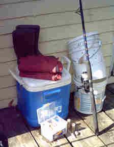 Basic fishing gear for Basic fishing gear