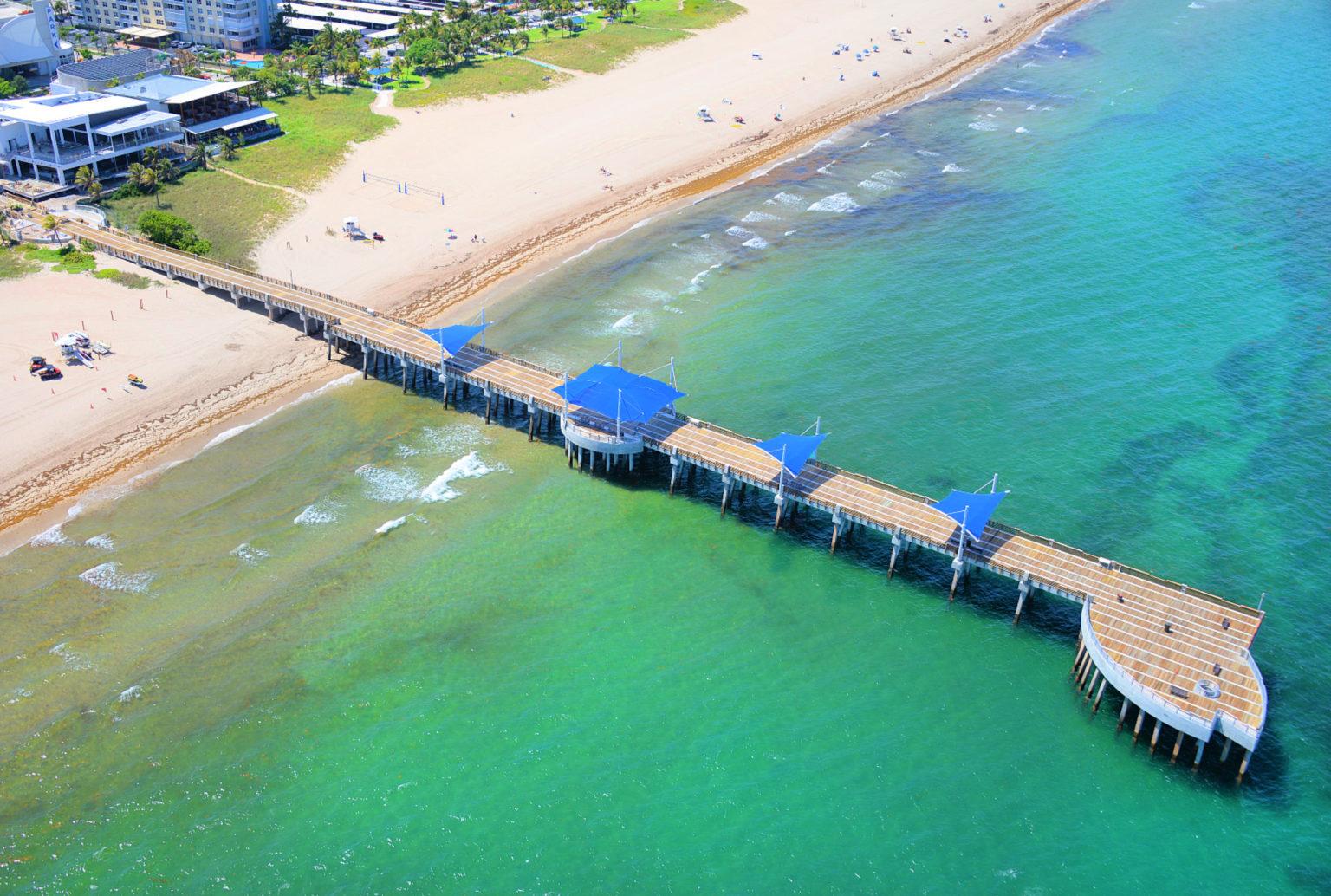 Pompano beach fishing pier for Pompano fishing pier