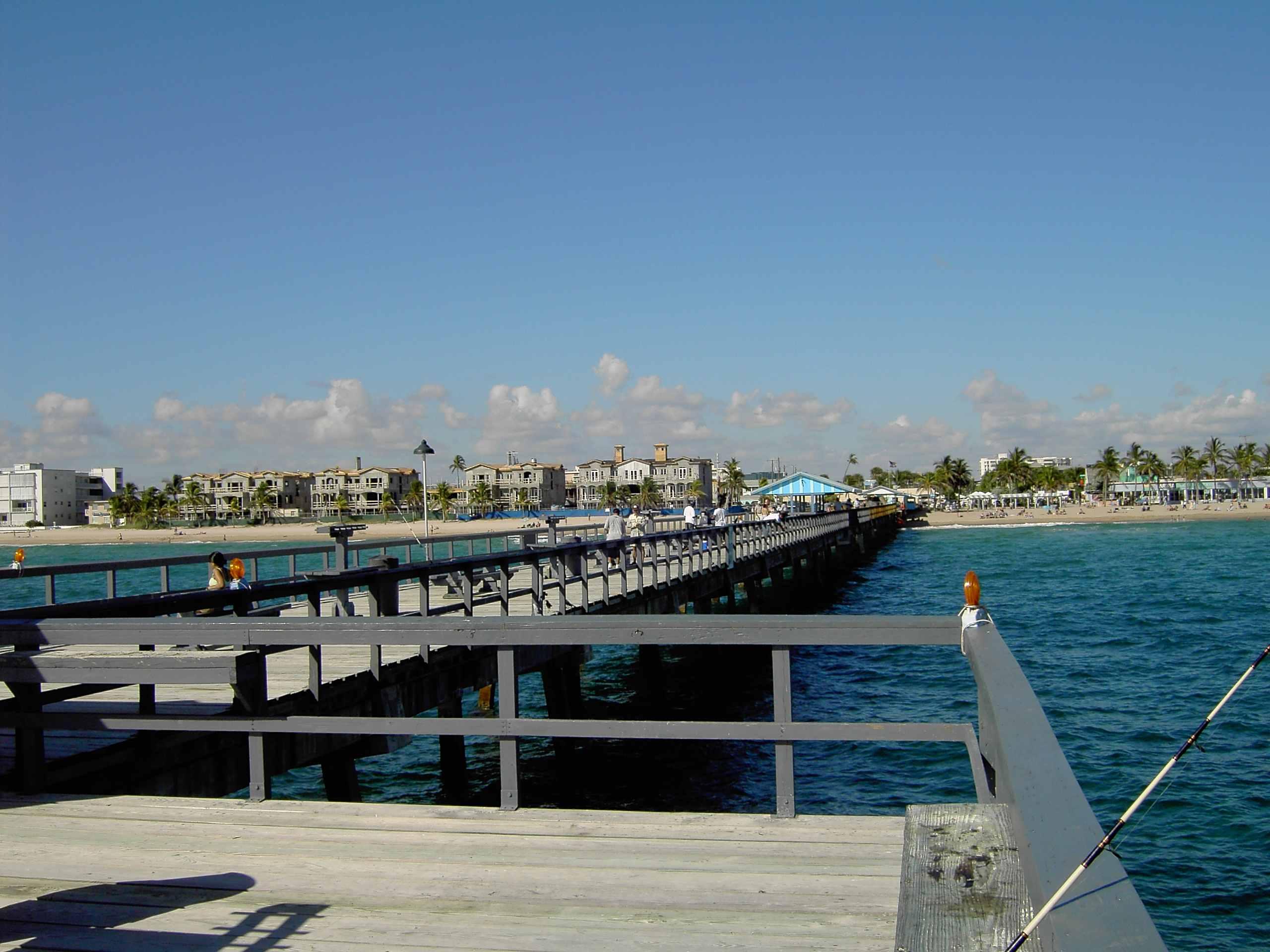 Fishing piers for Pier fishing net